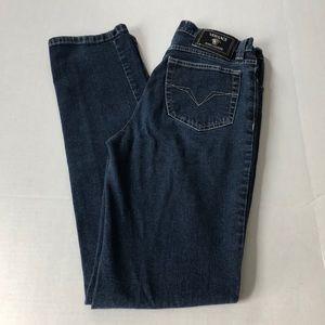 Versace Jeans vintage high rise straight leg jeans
